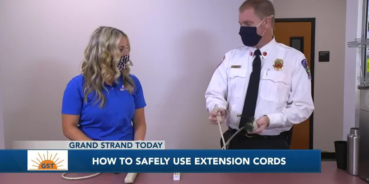 Horry County Fire Rescue has tips about extension cord safety