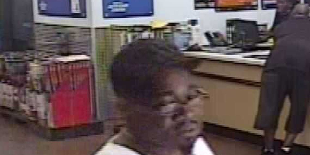 Man wanted for questioning in identity theft, larceny case