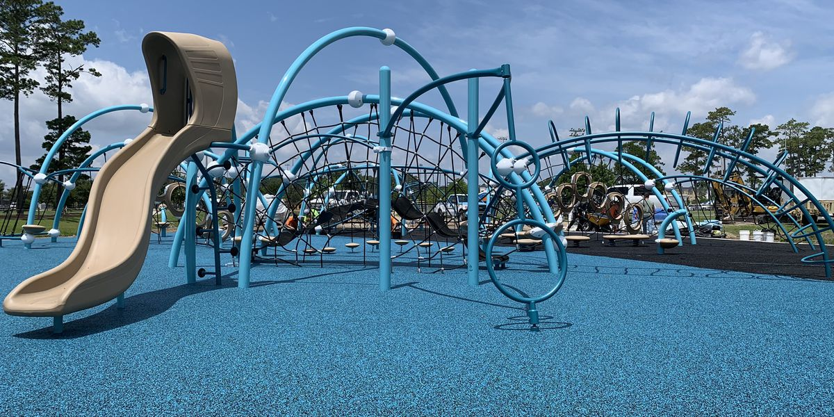 Phase two work on Savannah's Playground continues to move forward