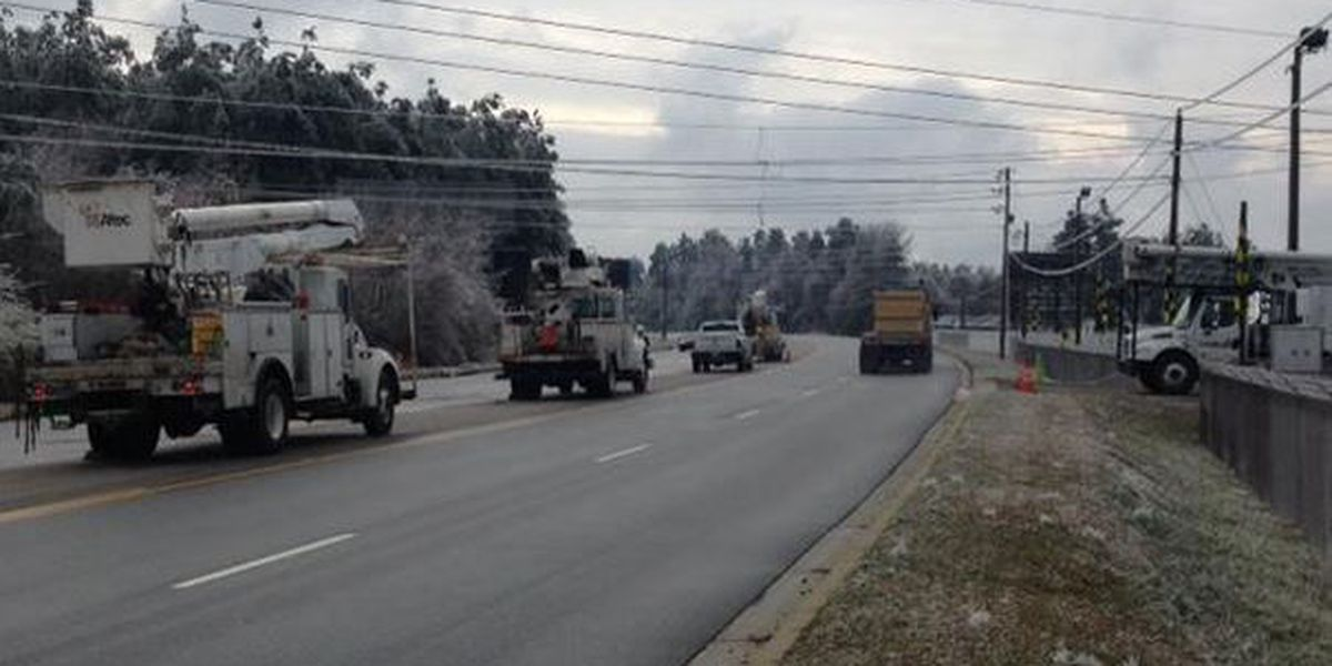 Winter storm cleanup continues in Hartsville