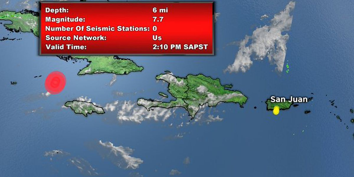 Powerful earthquake near Cuba, Jamaica registers in S.C.