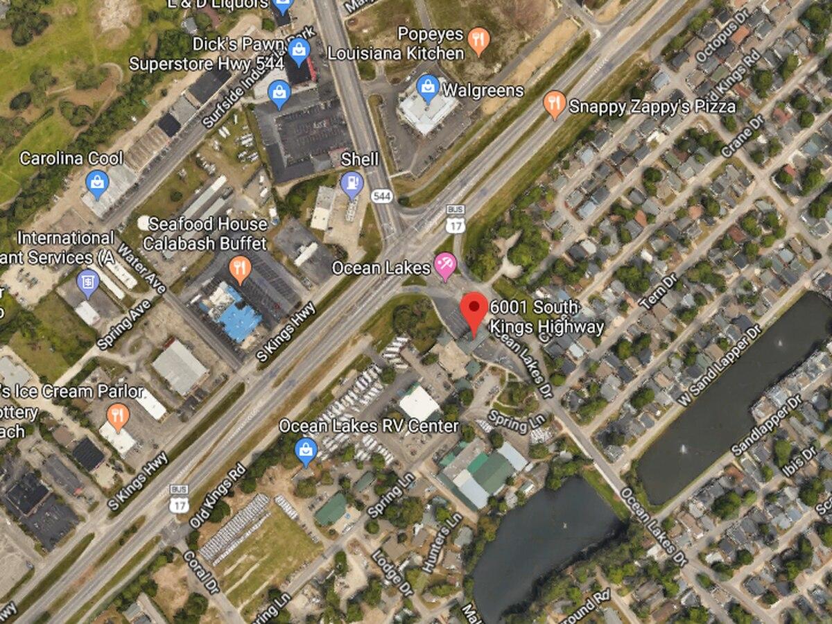 Crews called to vehicle versus motorcycle crash near Ocean Lakes Campground