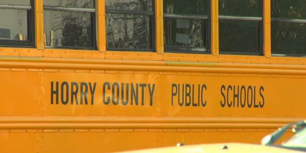 No injuries reported following collision involving school bus in Conway area