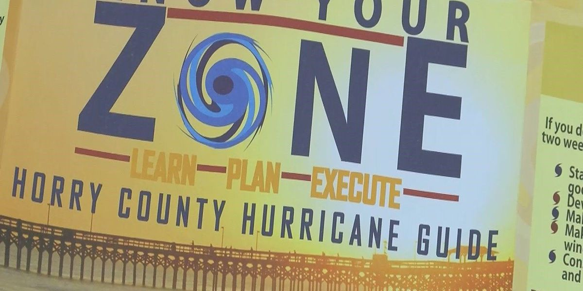 Horry County launches 'Know Your Zone' town halls to encourage hurricane preparedness