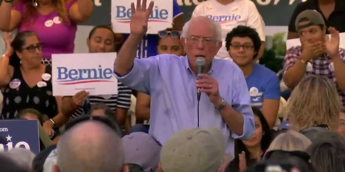 Hundreds attend presidential candidate Bernie Sanders town hall meeting in Myrtle Beach