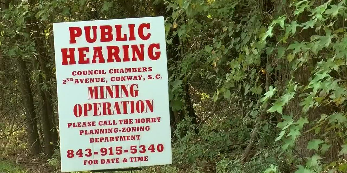 Developer proposes new mining operation in Nichols; residents are concerned