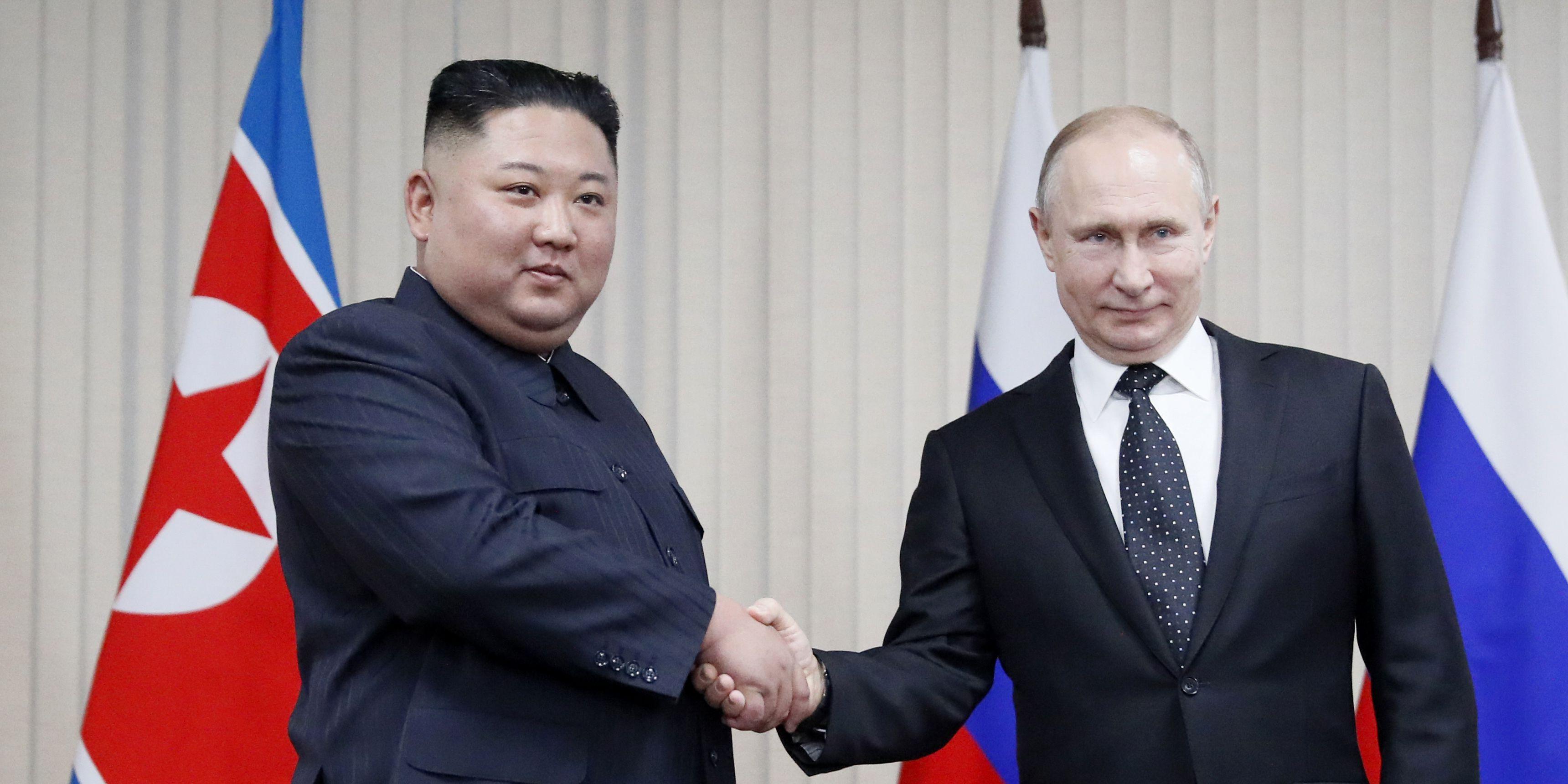 Putin, Kim discuss how to break North Korean nuclear standoff