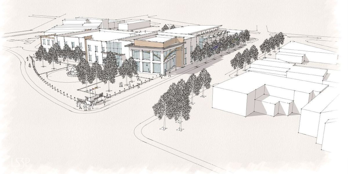 WMBF Investigates: Design group draws first sketches of library, museum project
