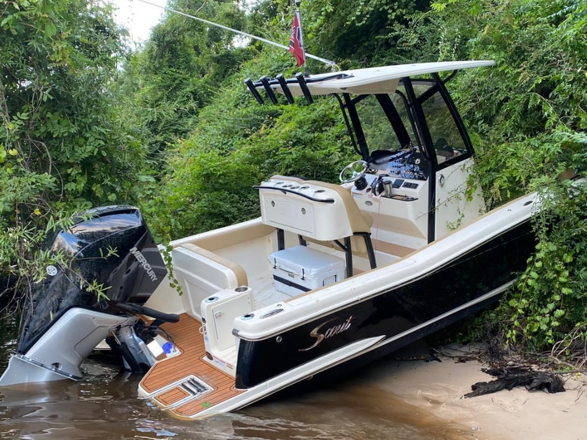 'It would've went on top of us': Group describes close call with boat crash; boat operator charged