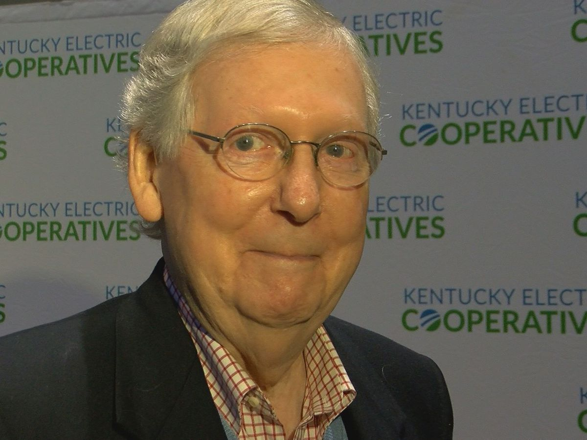 McConnell announces he'll run for re-election next year