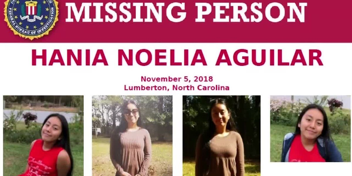 Police say body found appears to be Hania Aguilar