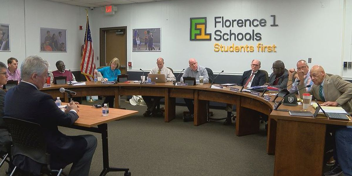 Florence One school board officials consider options to fund new schools