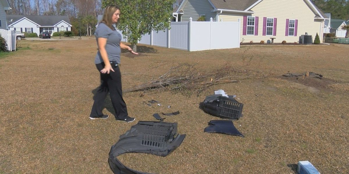 Homeowner wants more signage, speed bumps in neighborhood where cars damage property