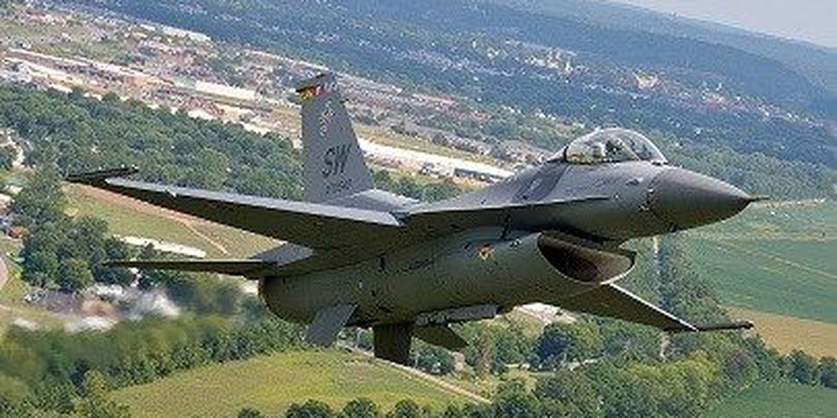 F-16 Fighting Falcons added to Wings Over Myrtle Beach Air Show