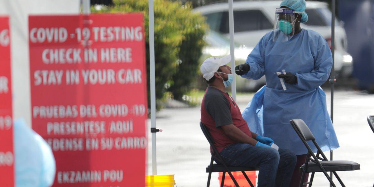 CDC develops new nasal swab to test for coronavirus and flu