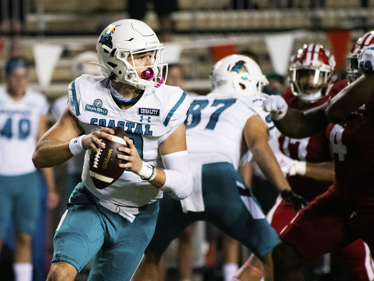 Coastal Carolina football earns historic AP Top 25 ranking