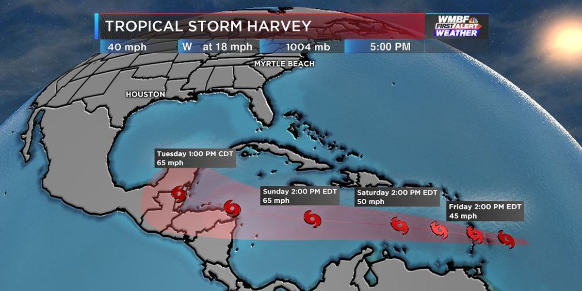 FIRST ALERT: Tropical Storm Harvey forms, watching other potential systems