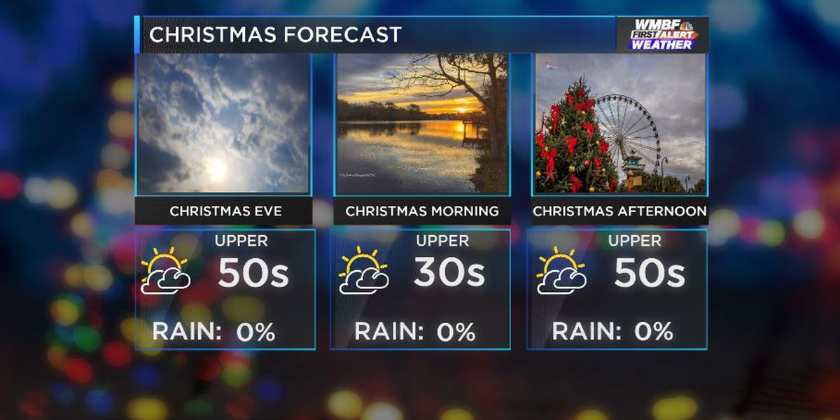 FIRST ALERT: Staying sunny and seasonable through Christmas