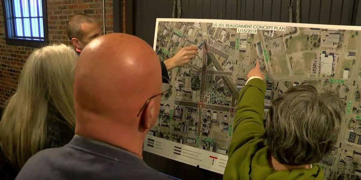 SCDOT unveils plans to realign U.S. 501