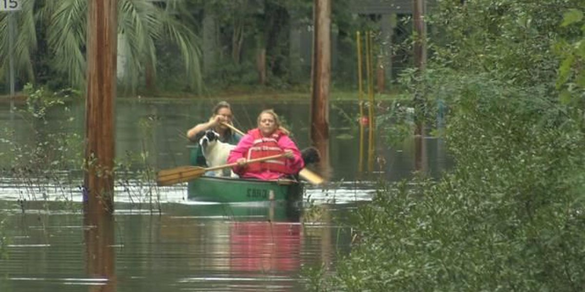 Some Lee's Landing residents evacuating before the river rises, others choosing to stay