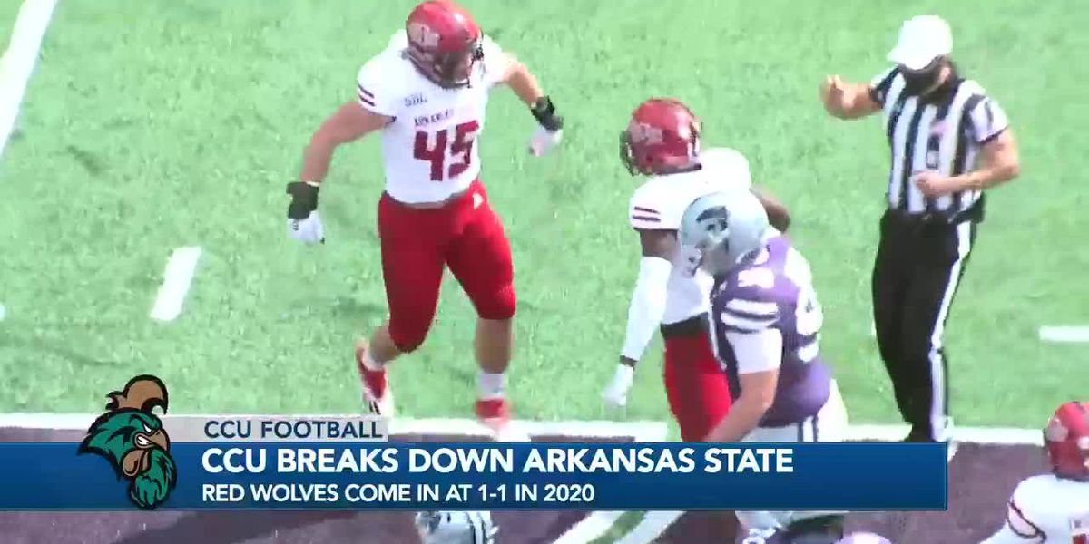 CCU tasked with stopping high-powered Arkansas State offense