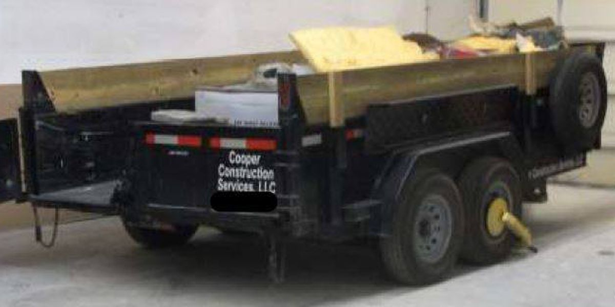 Police need your help in locating stolen trailer