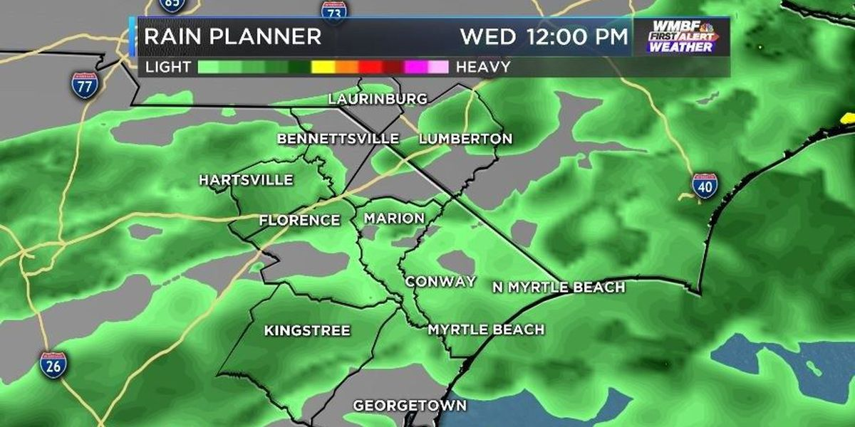 FIRST ALERT: Cold, rainy day ahead but ice free