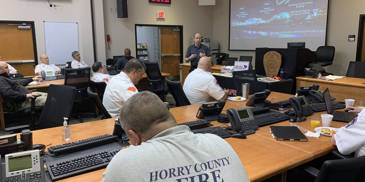 Horry County officials discuss fire safety, how to properly install car seats
