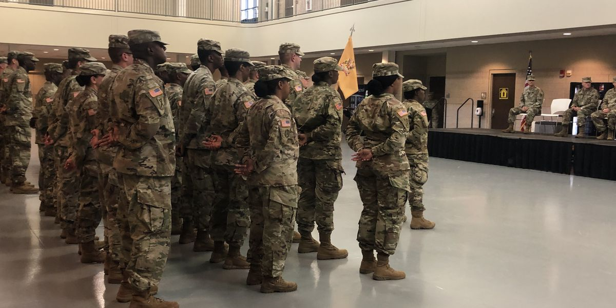 South Carolina National Guard unit deploys in support of Operation Spartan Shield