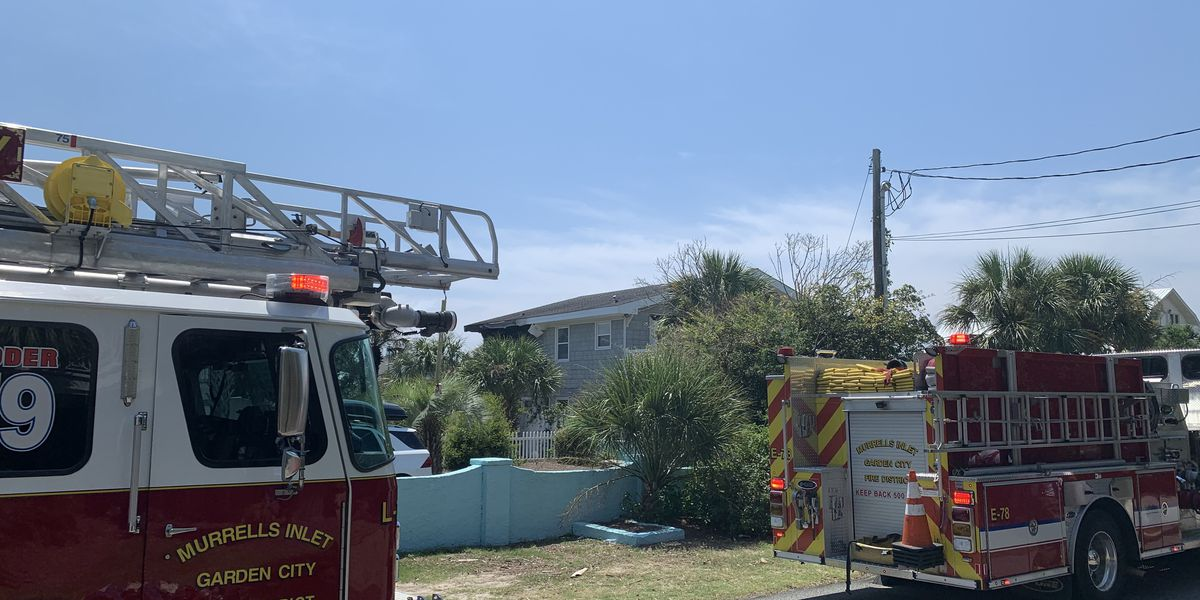 No injuries reported in house fire in Garden City
