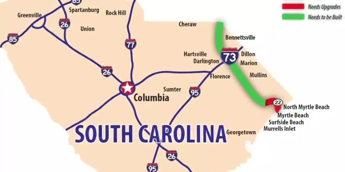 Horry Council chairman says county can't build I-73 'ourselves' after contract canceled