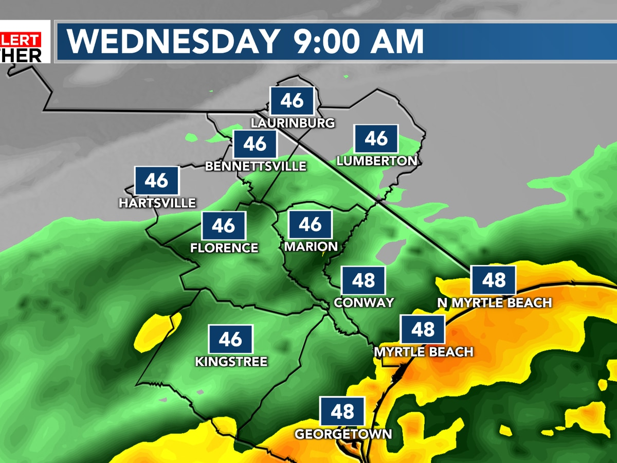 FIRST ALERT: Widespread rain this morning, messy morning commute