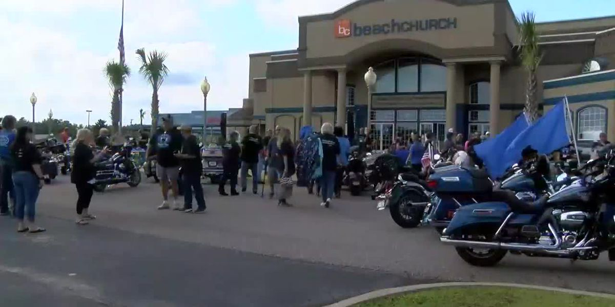 Memorial ride, service for Gannon Stauch takes place in the Grand Strand