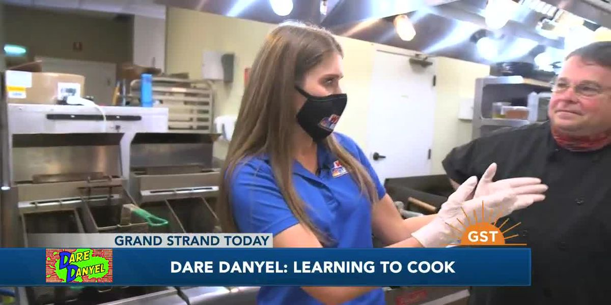 Dare Danyel: Cooking in the kitchen