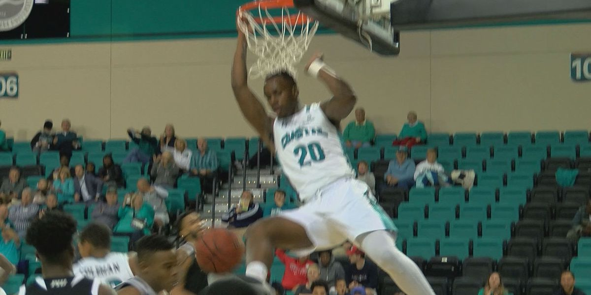CCU opens the season with blow out win