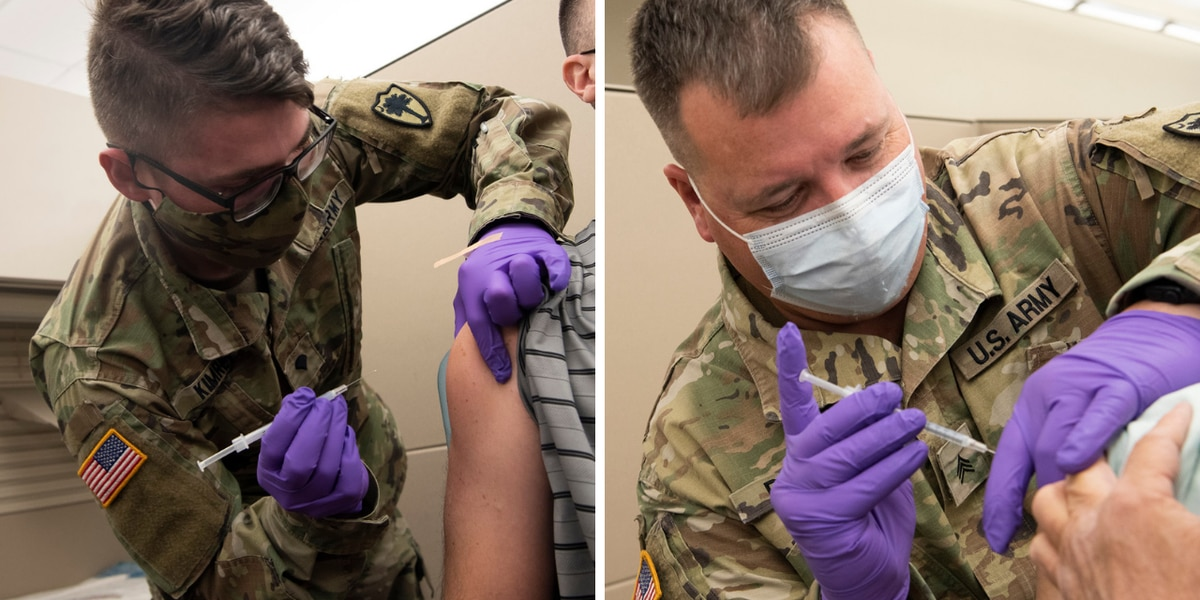 S.C. National Guard administers over 52K COVID-19 vaccines to residents
