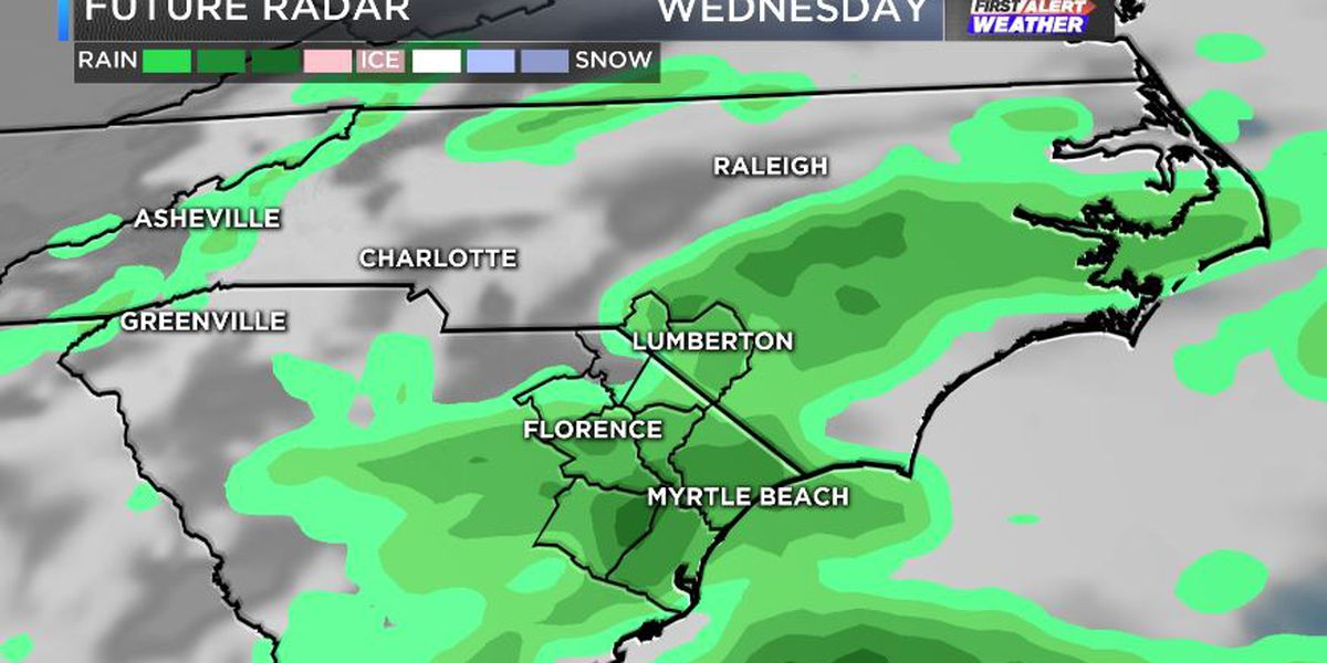 FIRST ALERT: Last bright and rain-free day for a while