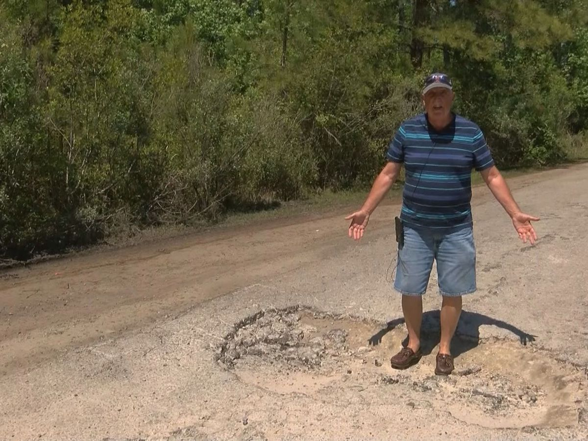 'This is a public safety issue': Potholes cause concerns for Horry County homeowners