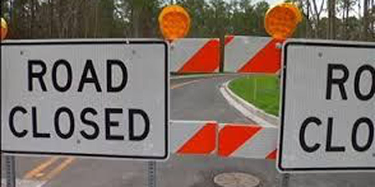 Contractor requests lane closures due to road construction