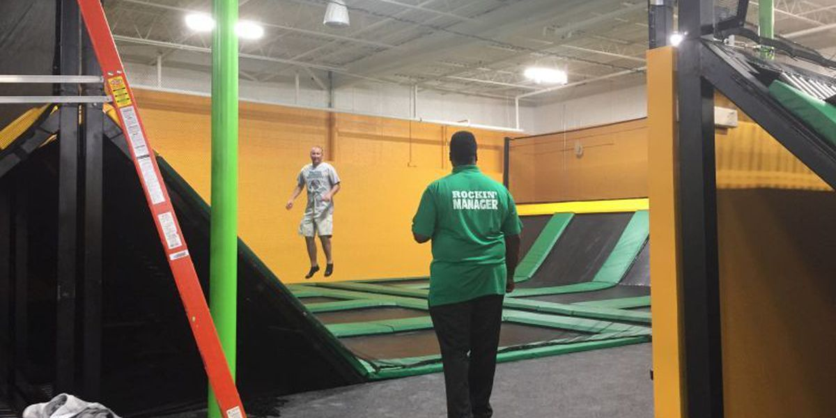 Rockin' Jump trampoline park promotes healthy fun for families