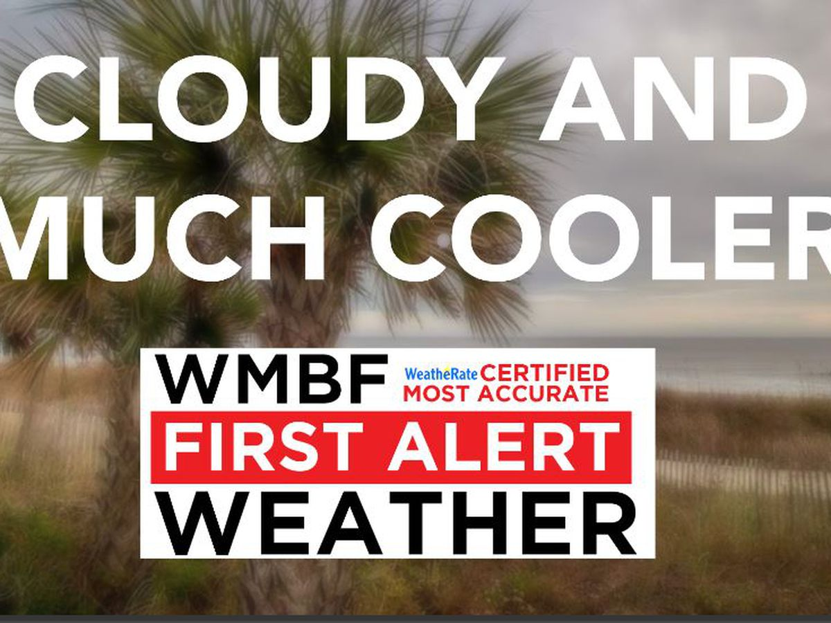 FIRST ALERT: Cloudy and much cooler