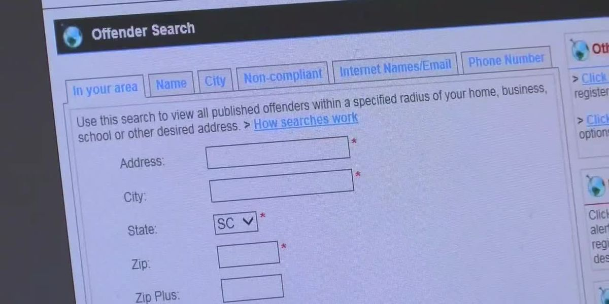 HCSO Sex Offender Tracking