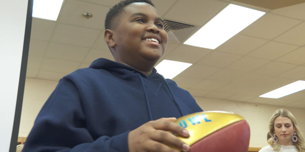 S.C. student battling sickle cell disease gets surprise Super Bowl trip of a lifetime