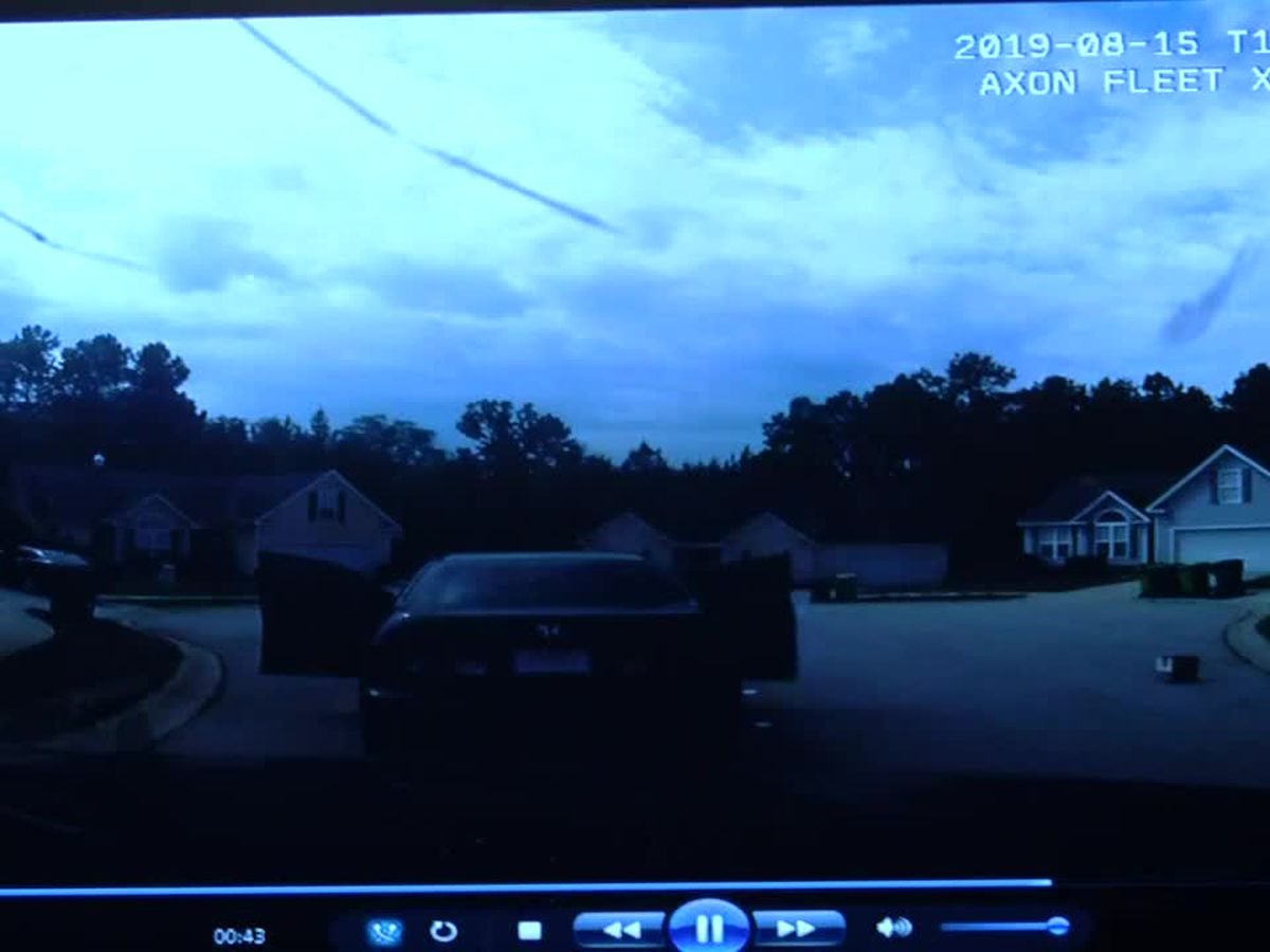 RCSD releases dashcam video of chase, shooting after bank robbery