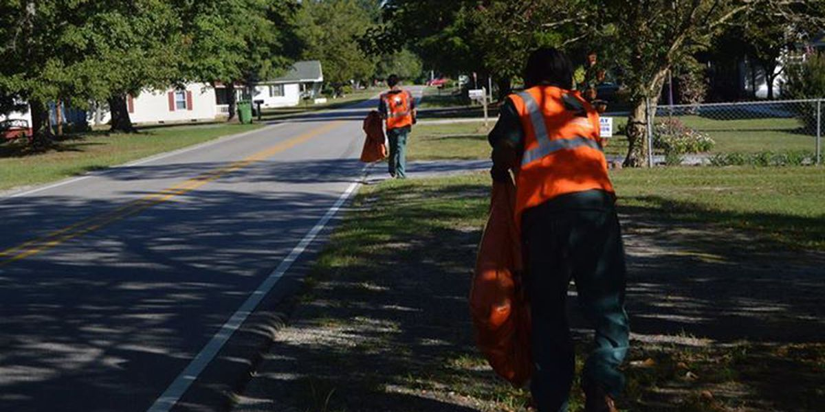 Scotland County holds its 2015 Fall litter sweep