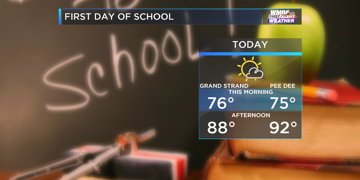 First Alert: Back to school, back to the summer heat