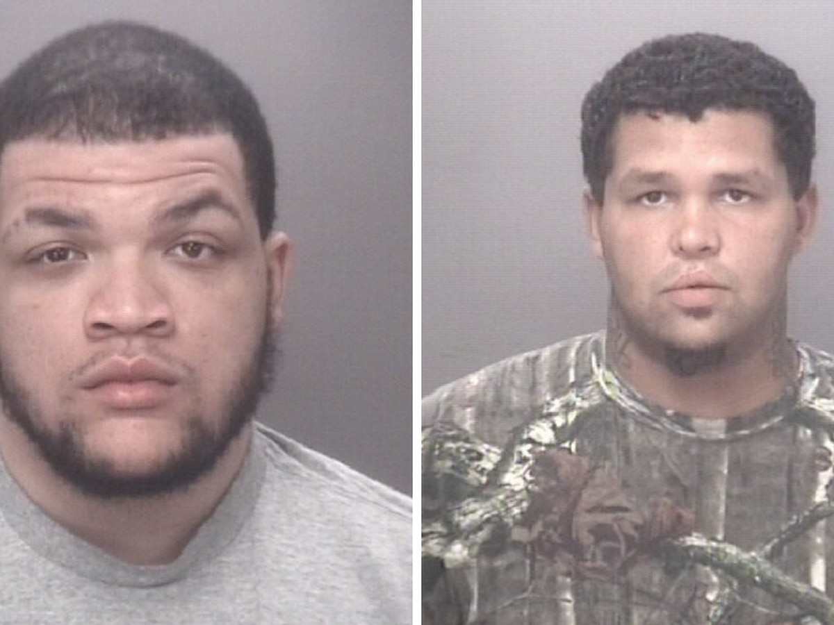 Two Robeson County men wanted on robbery, kidnapping charges, deputies say