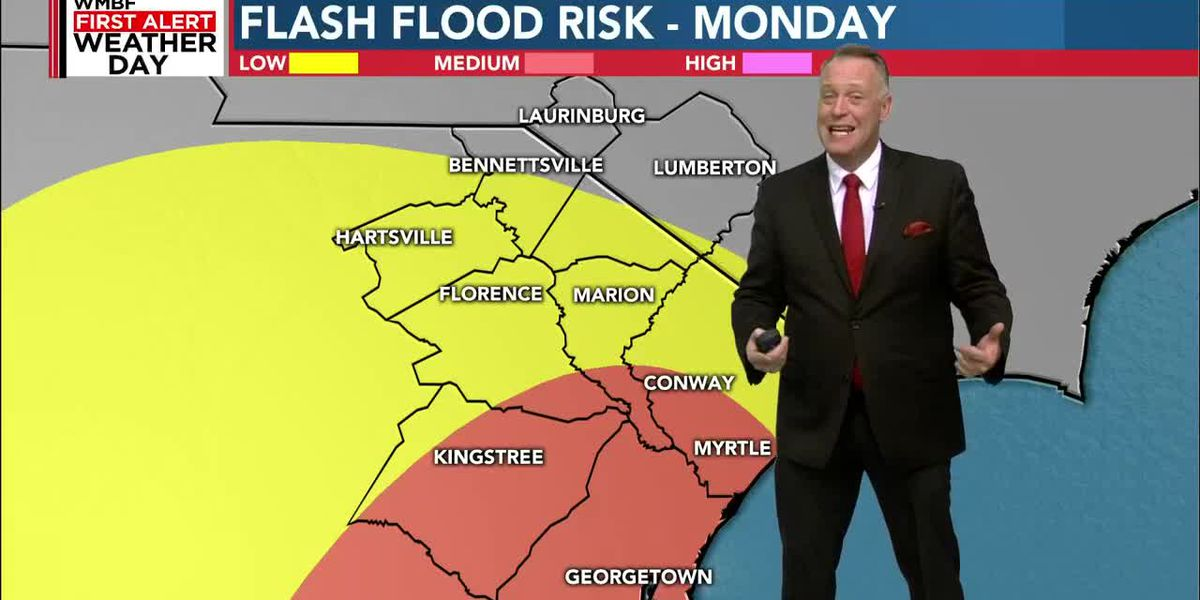 First Alert Weather Day Monday for miserable rain and wind