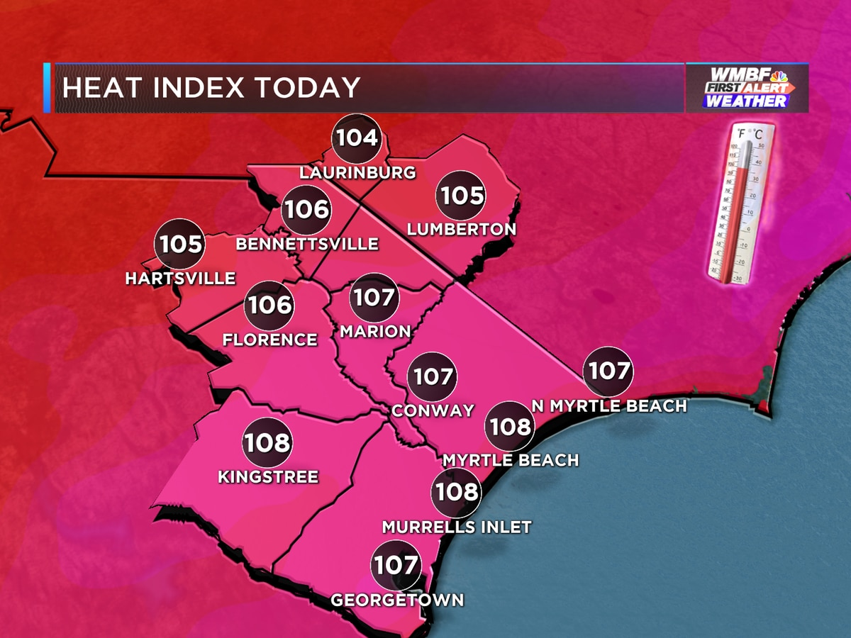 First Alert: High humidity continues, another heat advisory issued