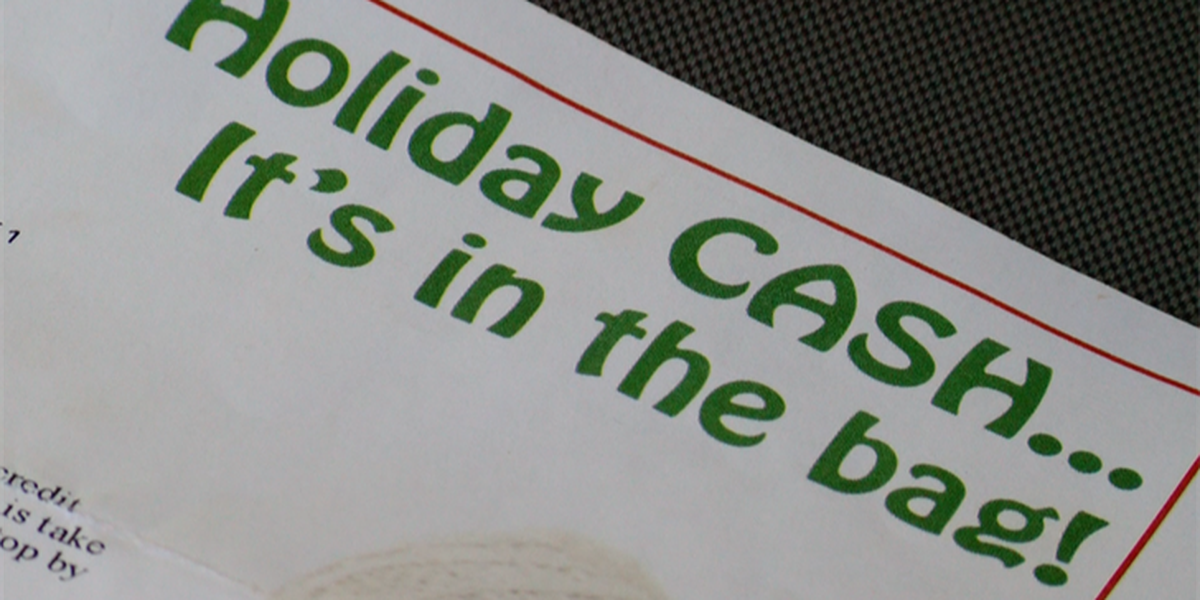 Holiday loan can provide Christmas cash, but financial planner says to read the fine print